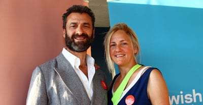 Organisers Eddie and Lindy Tamir    pic: Peter Haskin