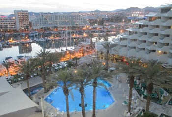 The resort city of Eilat in southern Israel. Credit: Dr. Avishai Teicher/PikiWiki Israel.