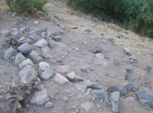 Excavations revealed buildings of a Natufian village    Photo: Dr Leore Grosman