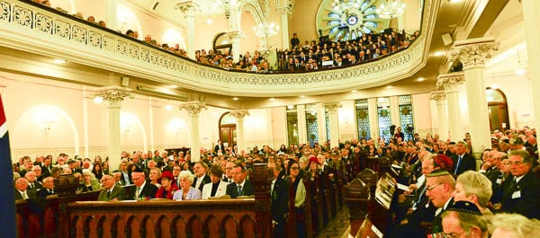 ANZAC - The Geat Synagogue  Photo: Henry Benjamin/J-Wire