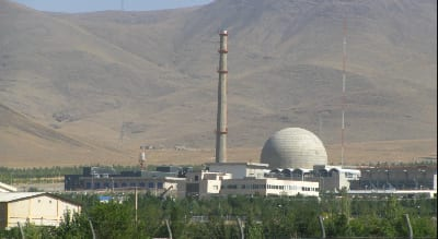 The Iranian nuclear program's heavy water reactor at Arak. Credit: Nanking2012 via Wikimedia Commons.