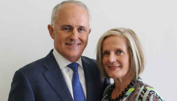 Malcolm and Lucy Turnbull