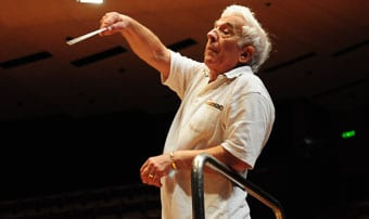 Vladamir Ashkenazy conducts the Beethoven Violin Concerto    Photo: Henry Benjamin/J-Wire