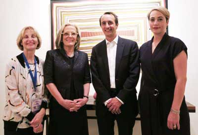 Jillian Segal, Lucy Turnbull, Ambassador Dave Sharman and Rachel Lord