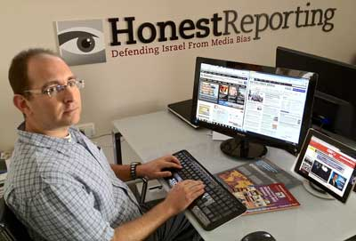 Honest Reporting's Simon Plosker