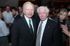 Joe Lieberman and Frank Lowy