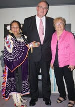 Elder Kirby Pucette, Walt Secord and Josie Lacy