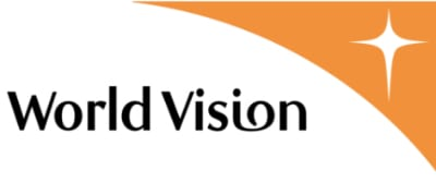 The World Vision logo. Credit: World Vision International via Wikimedia Commons.