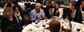Robert Elphinston talks to leaders