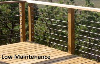 wood deck railing wood railings