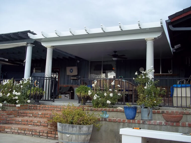 aluminum patio covers shade structures