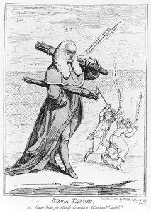 Judge Buller Caricature