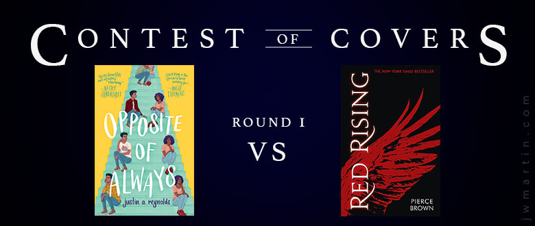 Red Rising vs Opposite of Always – Contest of Covers | Storeys of