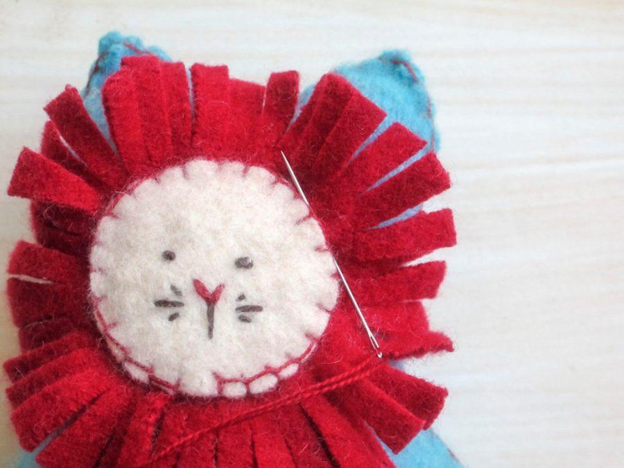 Lion Softie Sewing Pattern