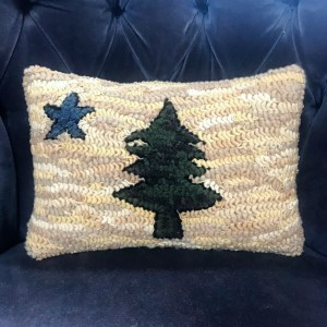 Maine State Flag Pillow