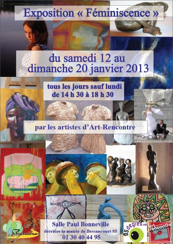 Affiche Féminiscence 2013