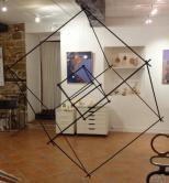 mes cubes suspendus