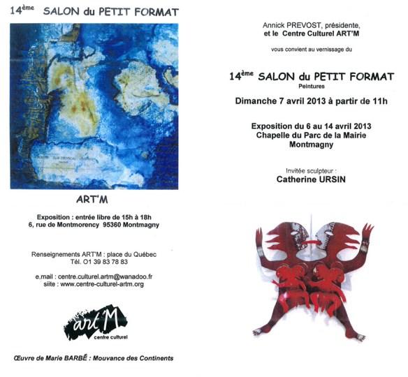 ART'M 14ème SALON DU PETIT FORMAT