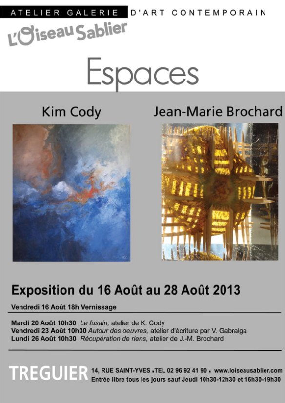affiche expo ESPACE
