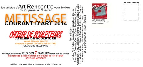 invitation METISSAGE verso