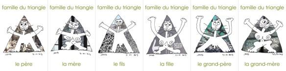 famille du triangle à Marseille