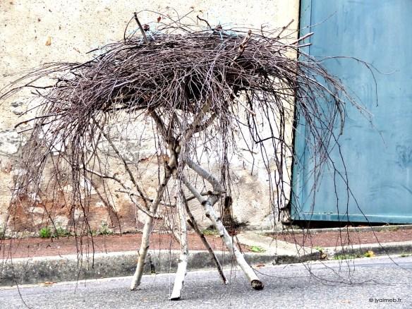 un de mes nids au Grisy Code