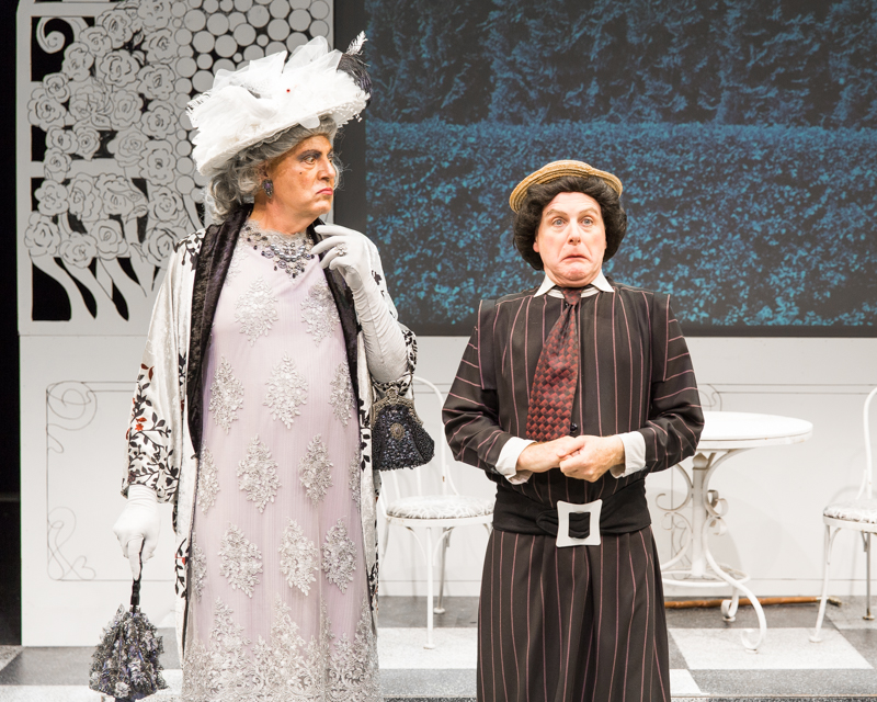 Brian Hemmingsen and David Bryan Jackson in Scena Theatre's production of 'The Importance of Being Earnest'.'