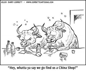 Bulls and China shop