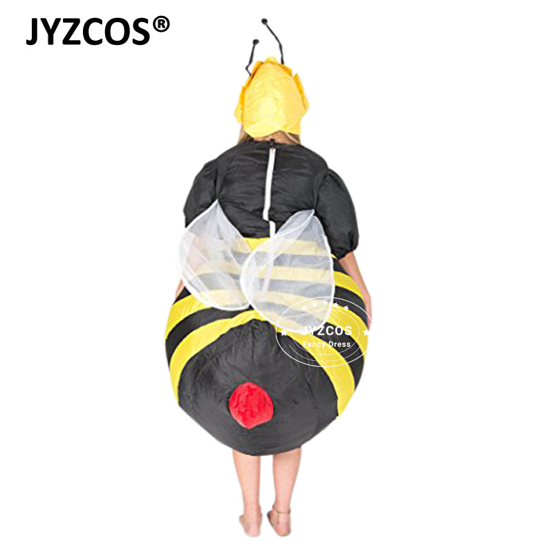 edd123fbc92f JYZCOS Adult Men Women Bee Inflatable Costume Bumble Bee Costumes ...