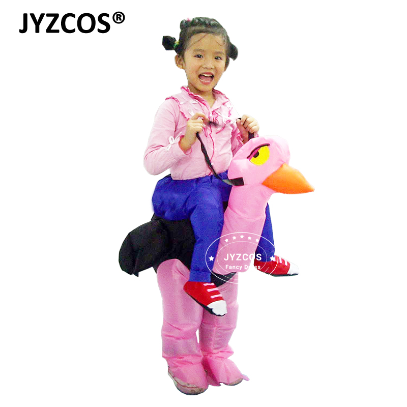jyzcos ostrich inflatable costume carnival kid costumes party