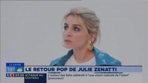 """Julie nous parle de son dernier single """"Tout est plus pop"""" dans la matinale de LCI (06/10/2019)"""