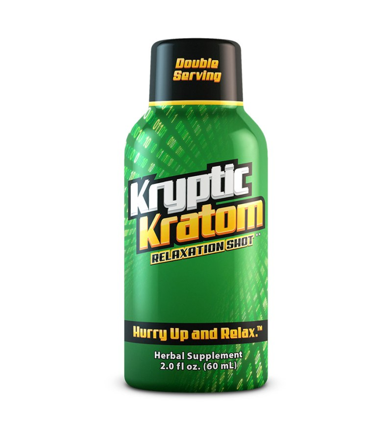 Kryptic Kratom 2oz. Relaxation Shot
