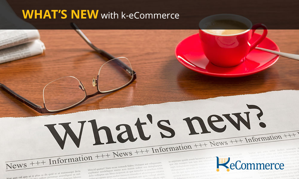 What's New k-eCommerce