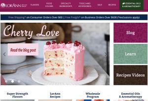 Valentine's Day e-commerce recipes LorAnn Oils