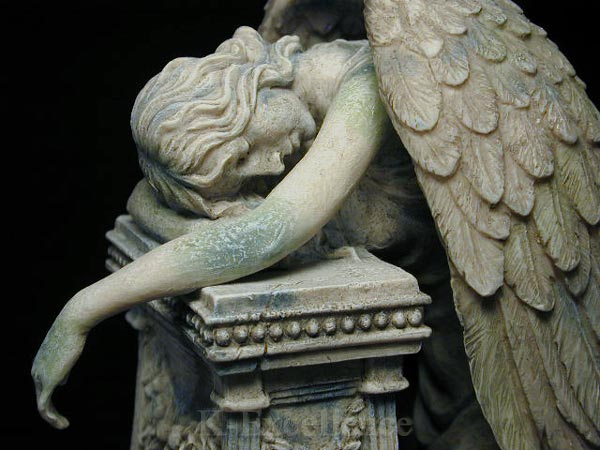 Pin Grieving Angel Statue on Pinterest