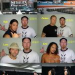More of me and Metallica before their show in Seoul South Korea 2006