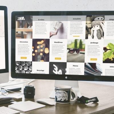 """Webdesign et intégration du site internet """"IKKA"""" (K-ROBAZ)"""