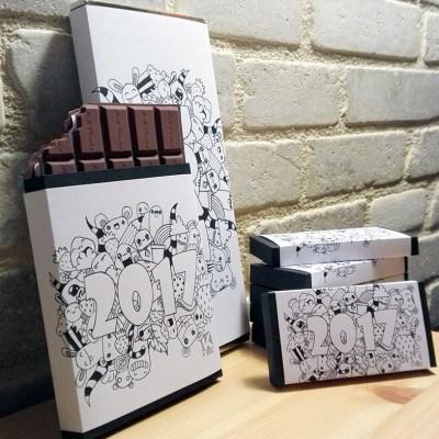 Visuel produit K-ROBAZ carte chocolat