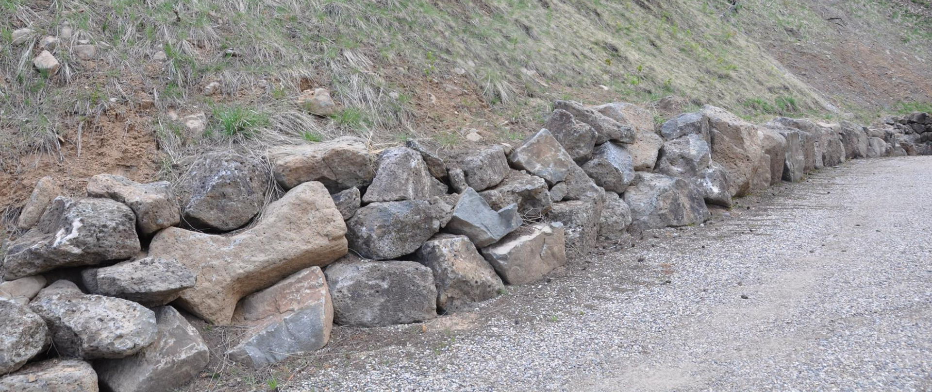 Rock Wall construction and excavation and landscaping company