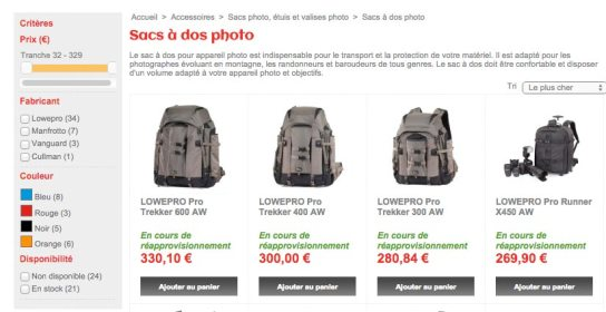 Boutique internet Appareil Photo PRO