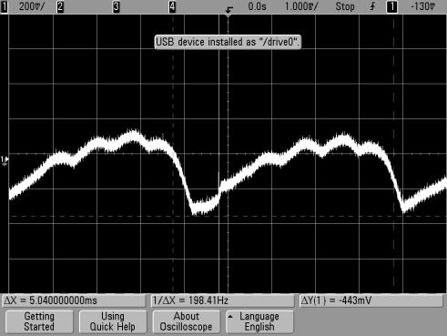 Escape alternator noise 12V at radio - at battery