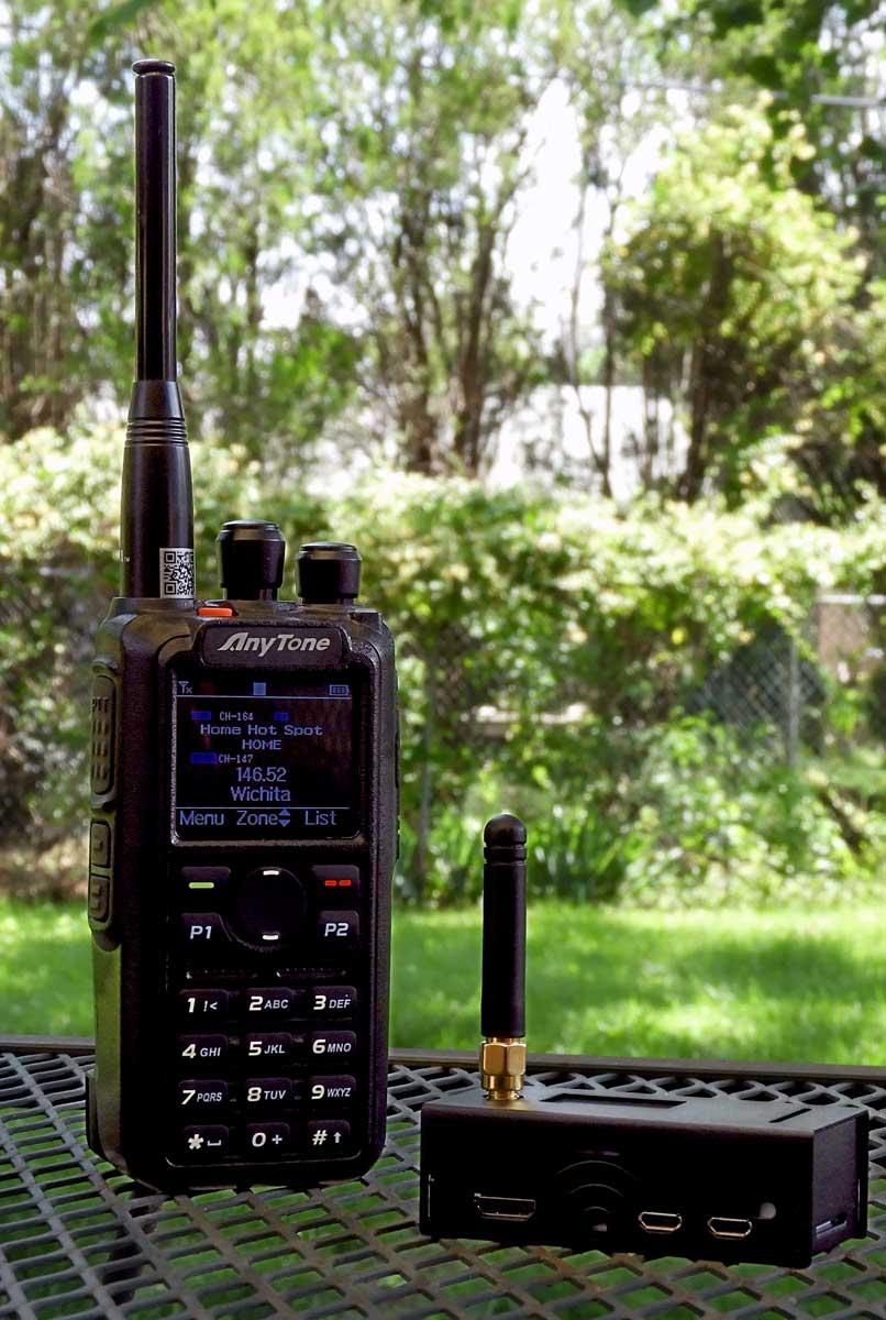 AnyTone AT-D868UV DMR Radio