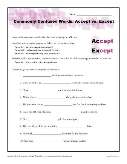 Transition words worksheet 5th grade ibookread PDF