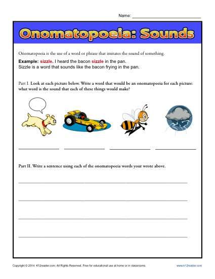 Onomatopoeia Sounds