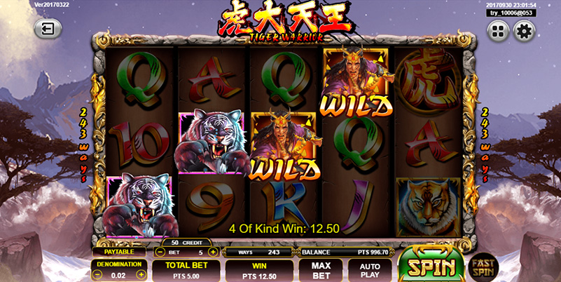 Spadegaming Slot Game Bonus