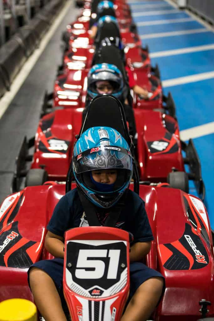 A Safe Clean Venue For Your Kid S Go Kart Birthday Party K1 Speed