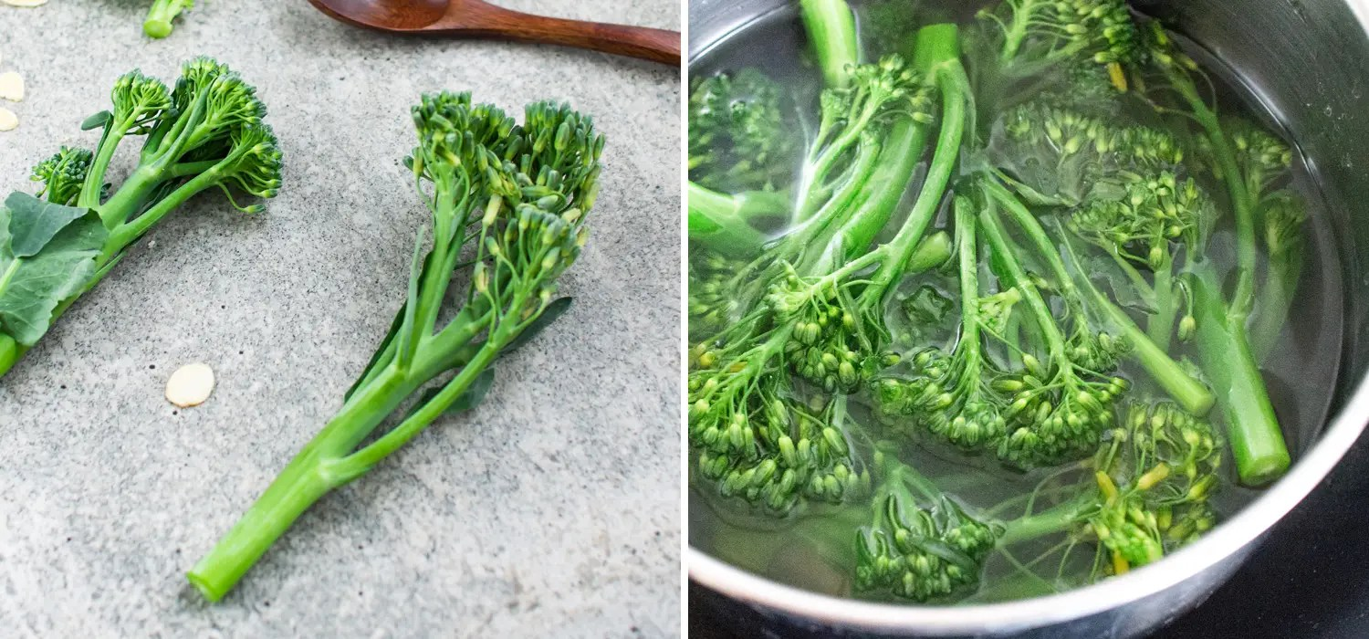 k33kitchen tenderstem broccoli with garlic almond 2