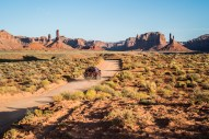 Early morning cruising in the Valley of the Gods.