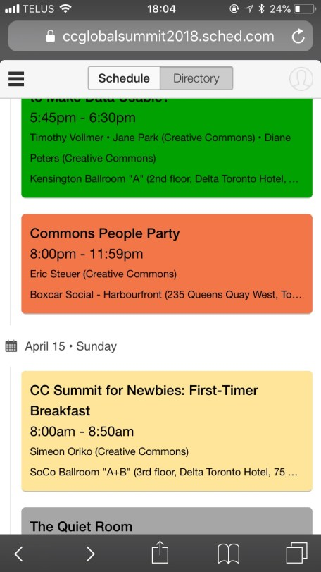 Creative Commons Summit 2018