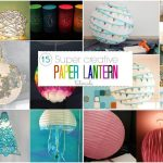 15 Stunning Diy Paper Lanterns And Lamps Step By Step K4 Craft